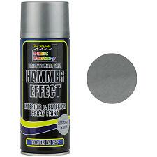 3 x martello d'argento effetto vernice Spray da 400ml può Esterno Interno in Metallo Ruggine