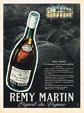 PUBLICITE  1955   REMY MARTIN  cognac