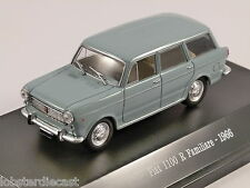 1966 FIAT 1100 R FAMILIARE in Blue 1/43 scale model by Starline