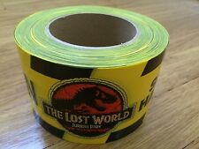 The Lost World Jurassic Park Movie Prop Rare Perimeter Caution Tape Spielberg