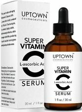 Uptown Cosmeceuticals L-ascorbic Acid Super Vitamin C Serum, Anti-Wrinkle