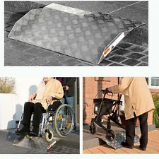 Aluminium Auffahrrampe Rollstuhl Rampe Auffahrhilfe für Rollstühle Rollator