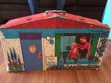 Vintage 1960's Barbie and Skipper Deluxe House