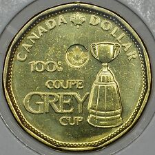 CANADA 1$ Dollar 2012 of the 100th GREY CUP in MS