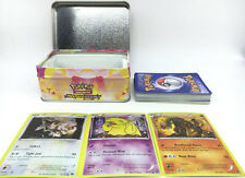 42pcs/lot Kids Metal Box Hot Game Cards Trading Collection Cards Figures Toys