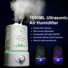 Portable  Ultrasonic Aroma Humidifier Diffuser Ionizer Atomizer Air Purifier WP
