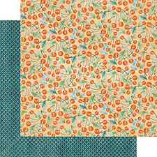 Graphic45 CHERRY ON TOP 12x12 Dbl-Sided Scrapbooking (2PC) Papers
