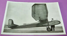 RARE CPA PHOTO AVIATION BASE AERIENNE 125 BA ISTRES MONO-PLANEUR S.F.A.N.