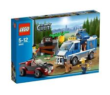 Lego City Town 4441 POLICE DOG VAN Gold Mine Sports Car Roadster Robber NISB