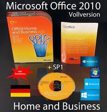 Microsoft Office Home and Business 2010 VERSIONE COMPLETA BOX, Cd sp1 seconda utilizzo OVP