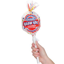 NEW Charms Giant Blow Pop Shaped Container Holds 8 Assorted Hard Candy Lollipops