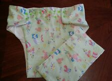 Adult flannel cloth incontenence medical diaper Medium contour toy clown baby