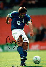 Pierluigi CASIRAGHI SIGNED Autograph 12x8 Photo AFTAL COA Italy