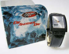 """DIE ANOTHER DAY! Swatch """"007"""" JAMES BOND SPECIAL Square Turnover! NIP-RARE!"""
