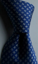Massimo Dutti  Lovely sky blue all Silk slim tie New Made in Italy N.W.O.T.