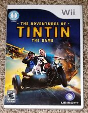 The Adventures of Tintin: The Game Nintendo Wii 2011 Complete with Manual
