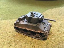 """1/100th (15mm) WWII US Painted M4A3E2 """"Jumbo"""" 75mm-Gunned Tank w Co Model"""