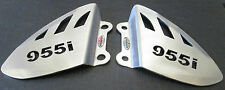Triumph Daytona 955i (97-06)Stainless Steel Foot Peg Heel Plates Beowulf HPTR004