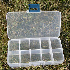 Hot Jewelry Case Plastic Clear Organizer Pills Hard Drawer Storage Boxes