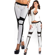 New Women's Jeans Skinny Stretchy Zipper Long Casual Pants Slim Pencil Trousers