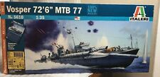 italeri 1/35 5610 vosper mtb 77 model ship kit +etched parts  factory sealed
