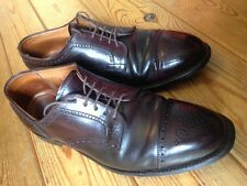 Alden homme semi richelieu à shell cordovan chaussures uk 9.5 wide fitting