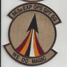 PATCH USAF 363RD EOSS EXPEDITIONARY OPS SUPPORT SQ MAGIC            Jo