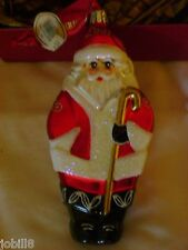 WATERFORD 2007 ANNUAL DATED SANTA ORNAMENT~~RARE/HARD TO FIND