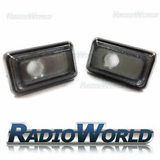 VW Golf Jetta Polo Passat Tinted Smoked Side Repeater Indicator Light Lamp Lense