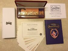 Disney Snow White & Seven Dwarfs PINS SET BOXED DIAMOND COLLECTION LIMITED
