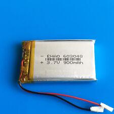 3.7v 900mAh 603048 LiPo Battery for MP3 MP4 DVD GPS Camera Recorder PAD Speaker