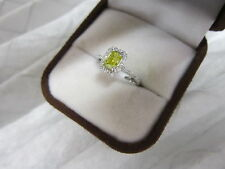 GORGEOUS ESTATE 14 KT GOLD 1.20 CTW FANCY YELLOW DIAMOND RING !!!!!!!!!