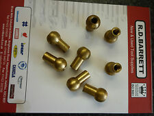 BRASS COOLANT NOZZELS FOR VDI TOOL HOLDERS TOOL POSTS COMES WITH A VAT INVOICE