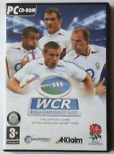 WORLD CHAMPIONSHIP RUGBY PC CD-ROM GAME XP/ME/2000 brand new 2 disc set !