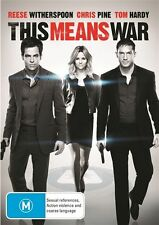 This Means War - NEW DVD