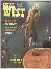 Real West October 1970 VF A Man Called Horse photo cover and story