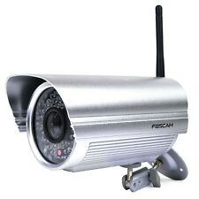 Foscam FI8905W Wireless/Wired Day/Night IP Camera w/60 IR LEDs & Smartphone Acce