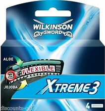 Wilkinson Sword Xtreme Razor Blades - Pack of 4