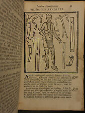 1777 Pierre Dionis SURGERY Human Anatomy Chirurgie Surgical Tools Illustrated