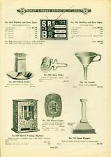 Catalog Page Ad  Koken Barber Supply Barbershop Signs Match Holder Vending 1910
