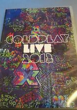 COLDPLAY LIVE 2012 DVD AND CD MUSIC CONCERT