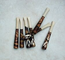 Pipe Smoking Bat Tobacco Pipe Hand Carved Wood Camo Free Shipping