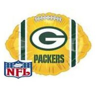 "Green Bay Packers Football 18"" Balloon Birthday Party Decorations"