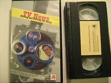 VHS Tape TV NEWS Writing and Editing the Story 2001 Films for Humanities [Y31c]