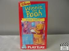 Winnie the Pooh - Pooh Party VHS Walt Disney Home Video