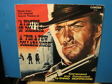 Ennio Morricone-Fistful of Dollars/Few Dollars More- Vinyl  Lp- Free UK Post