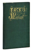 Jack's Manual ~ J. A. GROHUSKO ~ 1910 Antique Cocktail Bar Mixed Drink Book