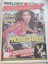 MELODY MAKER JUNE 5 1999 - SHED SEVEN SUPERGRASS HOMELANDS CATATONIA
