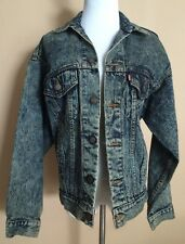 Levi Strauss XS Jean Jacket Long Sleeves 100% Cotton Made in the USA