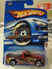 Hot Wheels Nissan Titan 2006 First Editions #031 Card w/Chevy 1500 Car Error